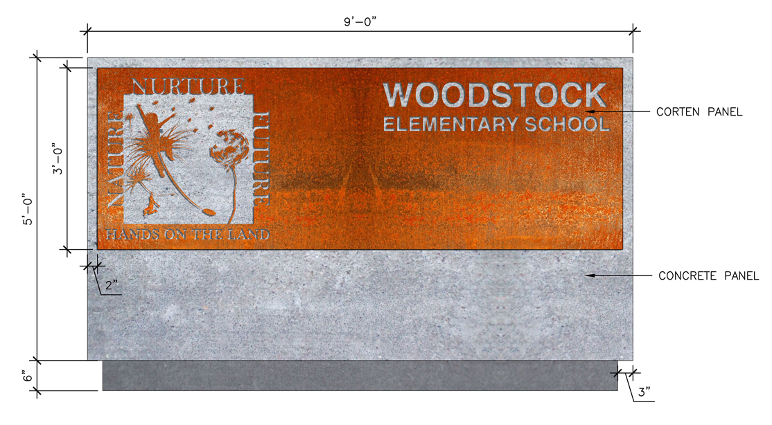 woodstock elementary school landscape architecture company vermont